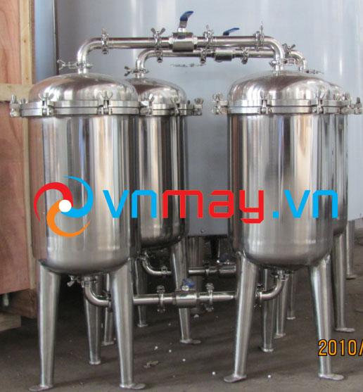 Hệ thống lọc nước ép trái cây, nước trà xanh