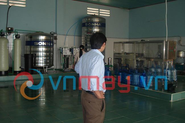 Dây chuyền sản xuất nước đóng chai, đóng bình Dakrutech