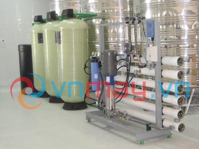 Dây chuyền lọc nước tinh khiết tự động