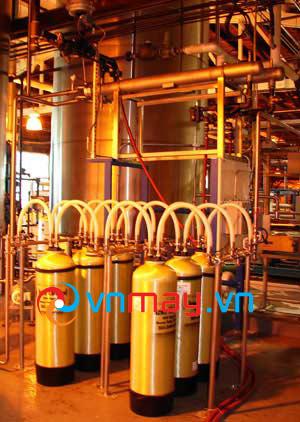 Hệ thống lọc nước khử Ion bằng cột lọc
