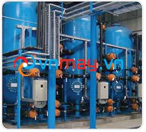 Hệ thống máy lọc nước có độ dẫn điện thấp