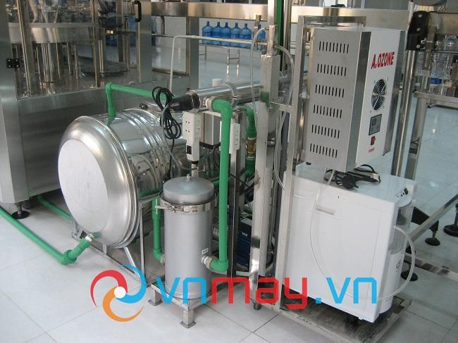 Hệ thống xử lý nước tinh khiết sau RO
