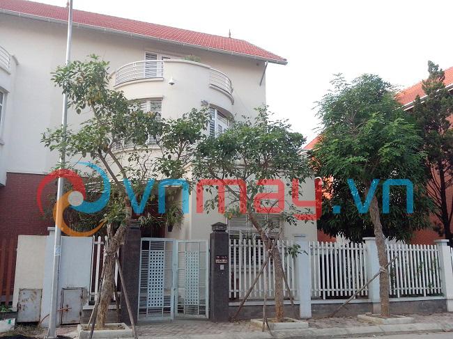 Biệt thự làng Việt Kiều Châu Âu