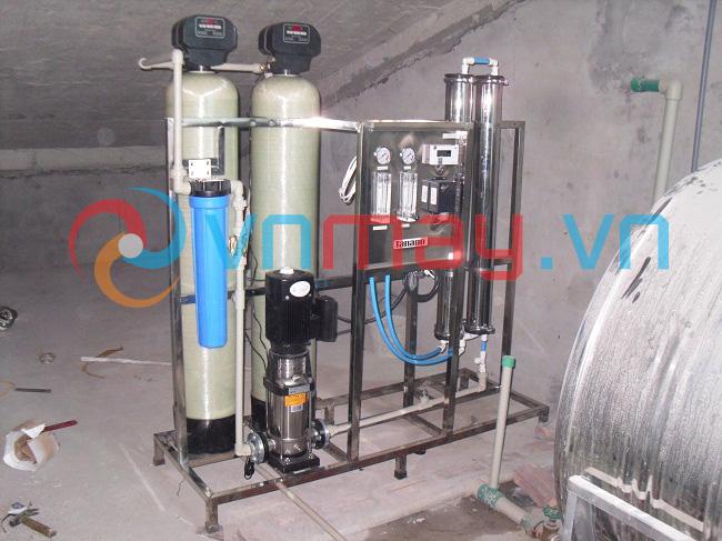 xử lý nước sinh hoạt tinh khiết