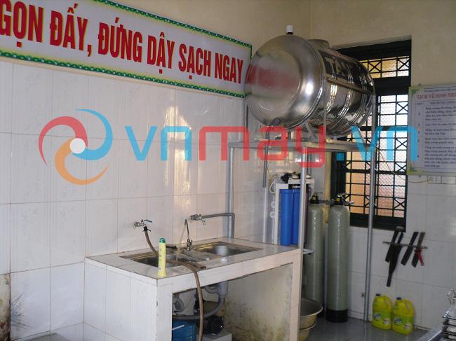 Hệ thống lọc nước ăn uống tinh khiết trường học
