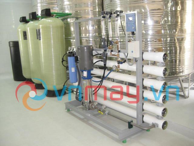 Dây chuyền lọc nước tinh khiết tự động tiêu chuẩn Mỹ