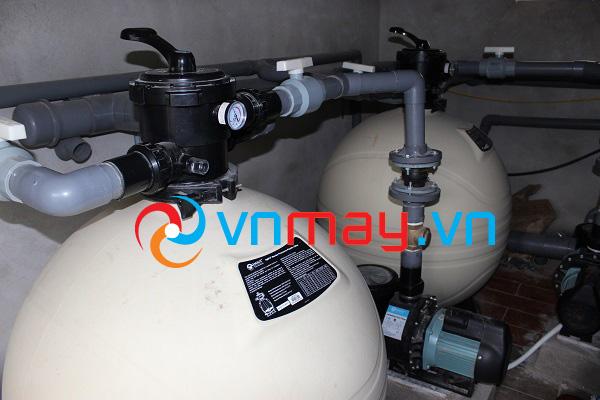 Hệ thống lọc nước hồ bơi tuần hoàn