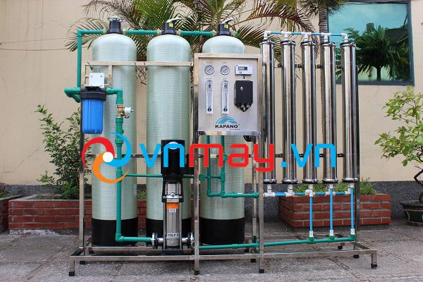 Hệ thống máy lọc nước chạy thận nhân tạo Kapano công suất 1500 lít/giờ