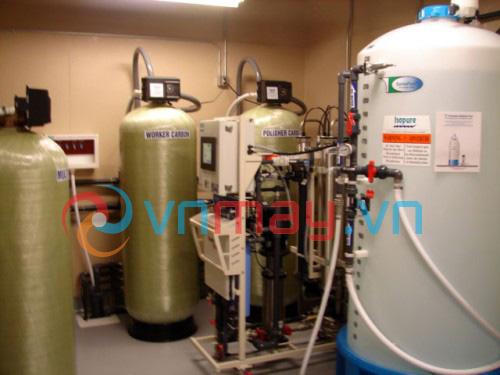 Hệ thống máy lọc nước chạy thận nhân tạo có kết hợp khử Ion
