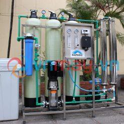 Dây chuyền lọc nước tinh khiết đóng chai 700 lít/giờ Kapano-0