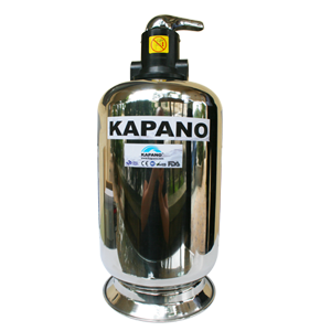 Máy lọc nước sinh hoạt gia đình vỏ inox 500 Kapano-0