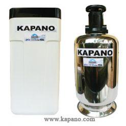 Bộ lọc làm mềm nước cứng gia đình vỏ inox 500 Kapano-0