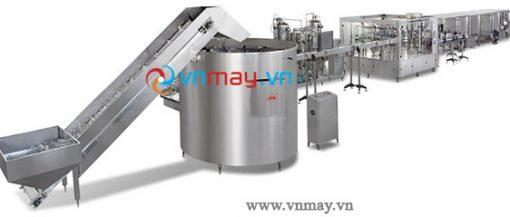 Dây chuyền sản xuất đồ uống có gas đóng chai PET-0