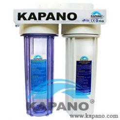 Máy lọc nước gia đình làm mềm nước cứng 2 cấp lọc Kapano-0