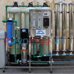 Dây chuyền lọc nước RO công nghiệp 1200 lít/giờ Kapano-0
